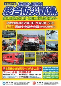 岡崎市総合防災訓練